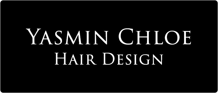 Yasmin Chloe Hair Design Logo Footer