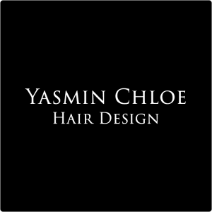 Yasmin Chloe Hair Design Maryport Logo White